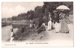 Niort - Le Concours De Pêche - édit. Clouzot 93 + Verso - Niort