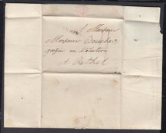 France 1768 - Precurseur De  Reims à Rethel ........ (VG) DC-4232 - Storia Postale