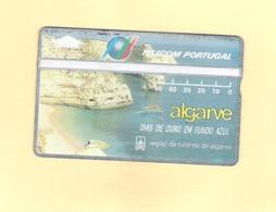 "PHONECARD - PORTUGAL TP34 ""R.T. ALGARVE"" 50U - MINT/NOT USED - Portugal"