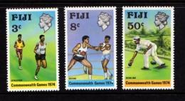 FIJI    1974    Commonwealth  Games    Set  Of  3    MNH - Fiji (1970-...)