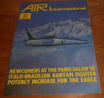 Air International. Volume 21. N°2. Août 1981. - Transports