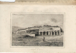 CYRENAIQUE NECROPOLE DE CYRENE 1835 INCISIONE DI LEMAITRE II° TIPO - Prints & Engravings
