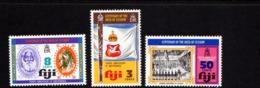 FIJI    1974    Centenary  Of  Deed Of  Cession    Set  Of  3    MNH - Fiji (1970-...)