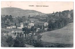 Cours - Usine De Valissant - édit. Passard  + Verso - Other Municipalities
