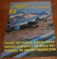 Air International. Volume 20. N°6. Juin 1981. - Transports