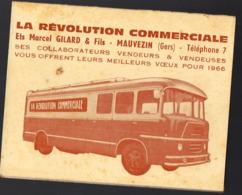 Mauvezin (32 Gers) Calendrier 1966 LA REVOLUTION COMMERCIALE   (PPP20692) - Calendriers