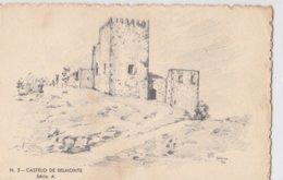 Portugal - Postal Ilustrado Nº 5 Castelo De Belmonte - Lisboa