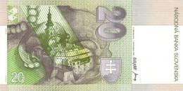 SLOVAKIA P. 20a 20 K 1993 UNC - Slowakije