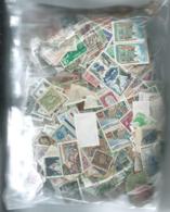 Vrac Timbre France Europe Et Etranger Non Trié 1.385kg - Lots & Kiloware (mixtures) - Min. 1000 Stamps