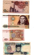 Lot 8-Lot De 8 Billets, Différents Pays, Différents états, Voir Scan - Banknotes