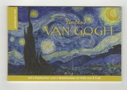 Austria 2019 Paintings Vincent Van Gogh Stamp Booklet With 6 Stamps + 4 Postcards MNH - Modern