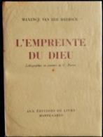 Maxence Van Der Meersch - L'empreinte De Dieu - Aux Éditions Du Livre Monte-Carlo - ( 1947 ) - Tirage Limité . - Bücher, Zeitschriften, Comics