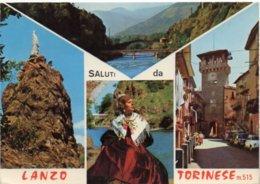 SALUTI Da LANZO TORINESE M. 515 - Vedute - Altre Città