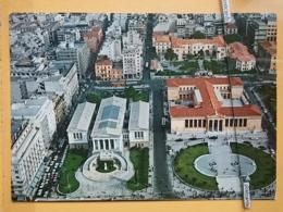 KOV 52-10 - ATHENS, ATHENES, GREECE, BIBLIOTHEK, LIBRARY - Grecia