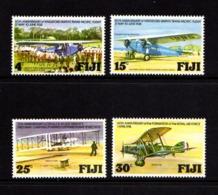 FIJI    1978    Aviation  Anniversaries    Set  Of  4    MNH - Fiji (1970-...)