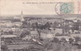 Craon La Ville Vue De L église St Clément éditeur Malicot N°688 - Craon