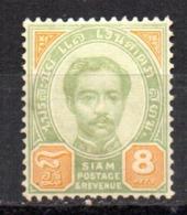 Sello Nº 11   Siam - Siam