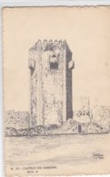 Portugal -Postal Ilustrado Nº 33 Castelo Do Sabugal - Vila Real
