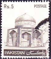 Pakistan - Mausoleum Von Ibrahim Khan Makli (MiNr: 509) 1981 - Gest Used Obl - Pakistan