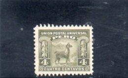 PEROU 1907 * - Peru