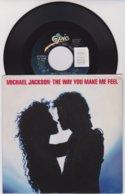 Michael Jackson - 45t Vinyle - The Way You Make Me Feel USA - Collector's Editions