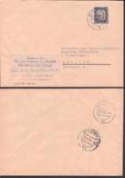 ZKD-Brief B3 BERLIN O17 Regierung Ministerium Des Inneren 12.4.56, Schließfach Beachten,  Germany DDR - [6] Democratic Republic