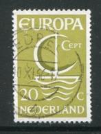 PAYS-BAS- Y&T N°837- Oblitéré (Europa) - 1966