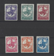 LUXEMBOURG .  YT  N° 252/257  Neuf *  1934 - Luxembourg