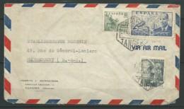 ESPAGNE: N° YT PA221 + 787 Et 791 Sur Env. Par Avion, Obl. Tanger 27, B - 1931-Hoy: 2ª República - ... Juan Carlos I
