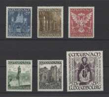LUXEMBOURG .  YT  N° 392/397  Neuf **  1947 - Luxembourg