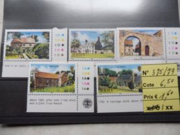 Jersey Neuf Xx Numero 375/79 Monument - Jersey