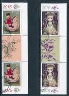 BULGARIEN Mi.NR. 5201-5202 D  Europa - Historisches Spielzeug -2015 - Used - Europa-CEPT