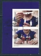 DÄNEMARK - GRÖNLAND Mi.NR. 695-696 Europa - Historisches Spielzeug -2015 - Used - Europa-CEPT