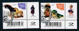 ESTLAND Mi.NR. 822-823 Europa - Historisches Spielzeug -2015 - Used - Europa-CEPT