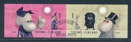 FINNLAND Mi.NR. 2376-2377 Europa - Historisches Spielzeug -2015 - Used - Europa-CEPT