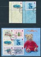 GUERNSEY Mi.NR 1516-1517, Block 73 Europa - Historisches Spielzeug -2015 - Used - Europa-CEPT