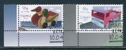 ISLAND Mi.NR 1459-1460 Europa - Historisches Spielzeug -2015 - Used - Europa-CEPT