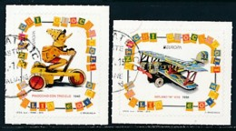 ITALIEN Mi.NR 3785-3786  Europa - Historisches Spielzeug -2015 - Used - Europa-CEPT