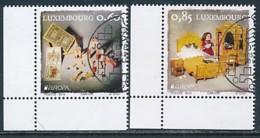 LUXEMBURG Mi.NR 2054-2055  Europa - Historisches Spielzeug -2015 - Used - Europa-CEPT