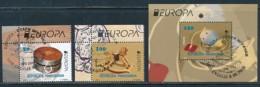 MAKEDONIEN Mi.NR 729-730 Block 28  Europa - Historisches Spielzeug -2015 - Used - Europa-CEPT