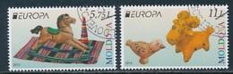 MOLDAWIEN Mi.NR 904-905  Europa - Historisches Spielzeug -2015 - Used - Europa-CEPT