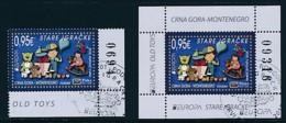 MONTENEGRO Mi.NR 370, Block 16  Europa - Historisches Spielzeug -2015 - Used - Europa-CEPT