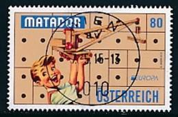 ÖSTERREICH Mi.NR 3214  Europa - Historisches Spielzeug -2015 - Used - Europa-CEPT