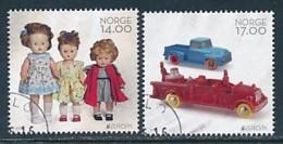 NORWEGEN Mi.NR 1884-1885  Europa - Historisches Spielzeug -2015 - Used - Europa-CEPT