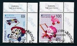 SERBIEN Mi.NR. 601-602  Europa  Europa - Historisches Spielzeug -2015 - Used - Europa-CEPT