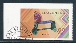 SLOWAKEI Mi.NR. 764  Europa  Europa - Historisches Spielzeug -2015 - Used - Europa-CEPT