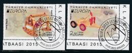 TÜRKEI Mi.NR. 4176-4177  Europa  Europa - Historisches Spielzeug -2015 - Used - Europa-CEPT
