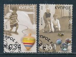 ZYPERN Mi.NR. 1325-1326 A; D  Europa  Europa - Historisches Spielzeug -2015 - Used - Europa-CEPT