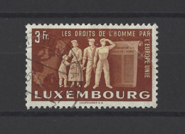 LUXEMBOURG .  YT  N° 447  Obl  1951 (voir Détail) - Luxembourg