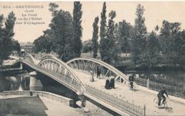 CPA - France - (46) Lot - Bretenoux - Le Pont Vu De L'hôtel Des Voyageurs - Bretenoux